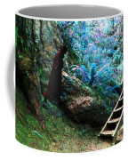 At Home In Her Forest Keep - Pacific Northwest Coffee Mug