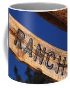 At Home On The Ranch Coffee Mug
