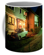 At Night In Thuringia Village Germany Coffee Mug