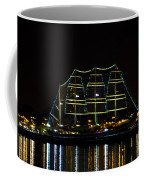 At Night On The  Delaware River - The Mushulu Coffee Mug