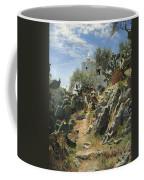 At Noon On A Cactus Plantation In Capri Coffee Mug