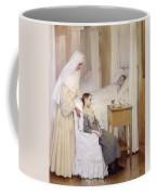At Notre-dame Du Perpetuel Bon Secours Hospital Coffee Mug