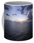 At Sea -- A Sunrise Begins Coffee Mug