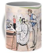 At The Barber And Reading Le Jockey Coffee Mug