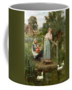 At The Duck Pond Coffee Mug