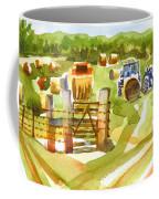 At The Farm Baling Hay Coffee Mug
