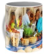 At The Farmer's Market Coffee Mug