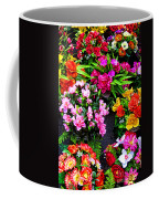 At The Flower Market  Coffee Mug