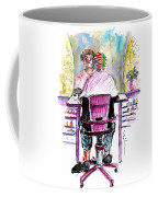 At The Hairdresser Coffee Mug