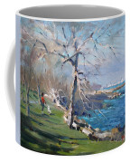 At The Park By Lake Ontario Coffee Mug