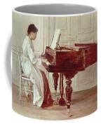 At The Piano Coffee Mug