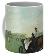 At The Races In The Countryside Coffee Mug