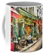 At The Restaurant In Paris Coffee Mug