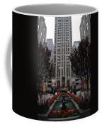 At The Rockefeller Center Coffee Mug