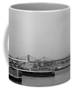 At The Same Moment In Black And White Coffee Mug