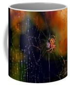 At The Spider Net Coffee Mug