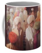 At The Temple Entrance, 2012 Acrylic On Canvas Coffee Mug