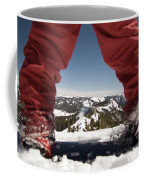 At The Top Of The Mountain Coffee Mug