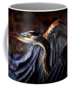 At Waters Edge - Great Blue Coffee Mug