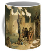 Ateseh-gah, Indians Devoted To The Cult Coffee Mug