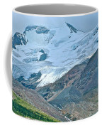Athabasca Glacier Along Icefields Parkway In Alberta Coffee Mug