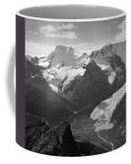 T-303504-bw-athabasca Glacier In 1957  Coffee Mug