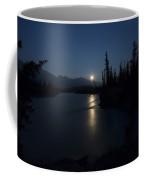 Athabasca River Moonrise Coffee Mug