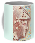 Athena On Banknote Coffee Mug