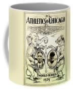 Athletics Vs Chicago 1929 World Series Coffee Mug