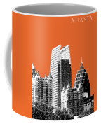 Atlanta Skyline 2 - Coral Coffee Mug