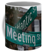 Atlantic And Meeting St Coffee Mug
