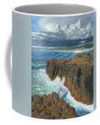 Atlantic Breakers Pontal Portugal Coffee Mug