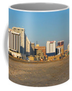 Atlantic City At Sunset Coffee Mug by Olivier Le Queinec