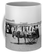 Atlantic City Beach, C1901 Coffee Mug