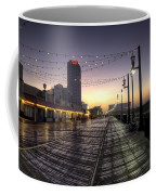 Atlantic City Boardwalk In The Morning Coffee Mug