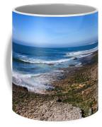 Atlantic Ocean Shore In Estoril Coffee Mug
