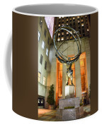Atlas In Rockefeller Center Coffee Mug