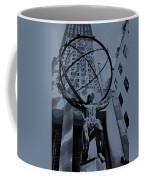 Atlas Rockefeller Center Poster Coffee Mug