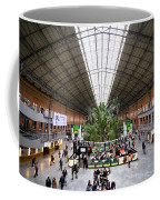 Atocha Railway Station Interior In Madrid Coffee Mug