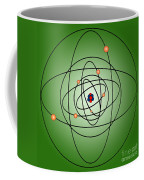 Atomic Structure Model Coffee Mug by Science Source