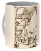 Atrium Of A Palace, In Genes, From Art Coffee Mug