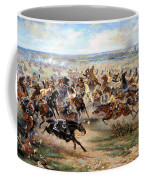 Attack Of The Horse Regiment Coffee Mug by Victor Mazurovsky