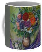 Atumn Flowers Coffee Mug