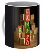 Aubrey - Alphabet Blocks Coffee Mug