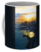 Auckland Oil On Canvaz Coffee Mug
