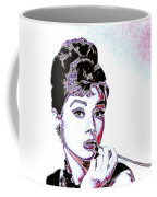 Audrey Hepburn 20130330 Square Coffee Mug