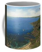 August Afternoon At Whitsand Bay Cornwall Coffee Mug