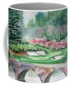 Augusta National 12th Hole Coffee Mug by Deborah Ronglien