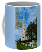 Augustinian Cemetery And Church Coffee Mug