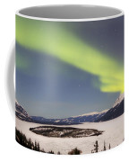 Aurora Borealis Over Bove Island Coffee Mug